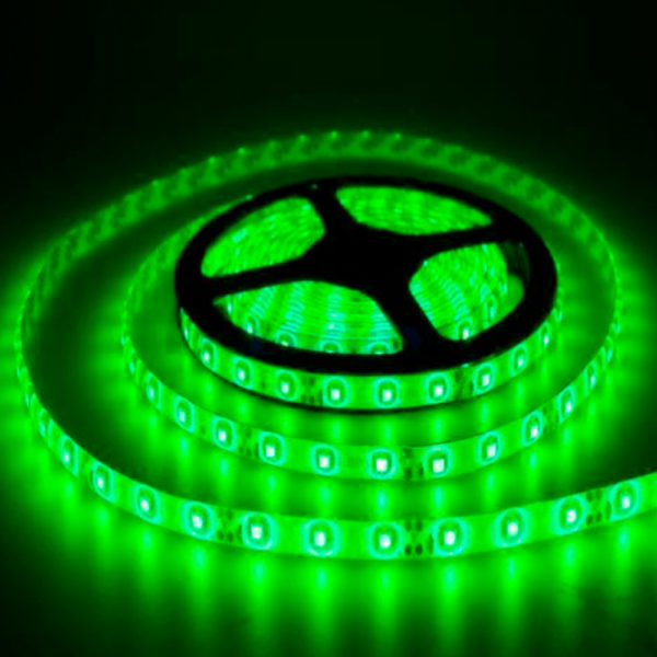 Светодиодная лента 9,6Вт 12V Зеленая