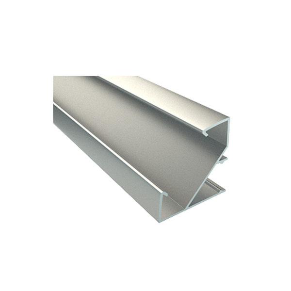 Угловой алюминиевый профиль ALP-28 33*33мм
