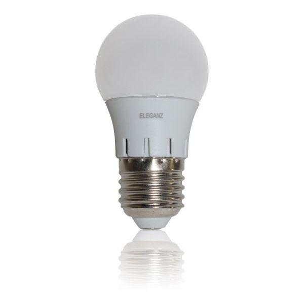 Светодиодная лампа E27 - 7Вт шар Eleganz