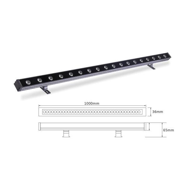 Архитектурный линейный светильник el-LS-XQ-1007
