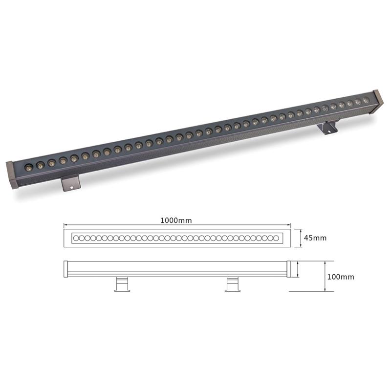 Архитектурный линейный светильник Eleganz el-LS-XQ-1003