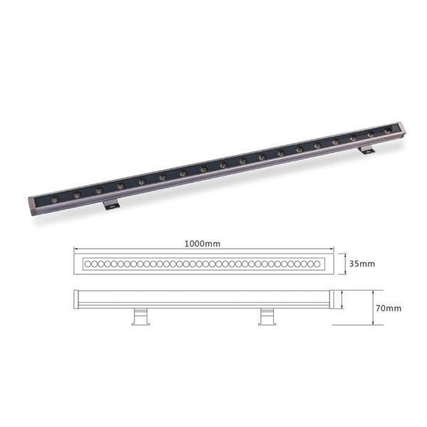 Архитектурный линейный светильник el-LS-XQ-1008