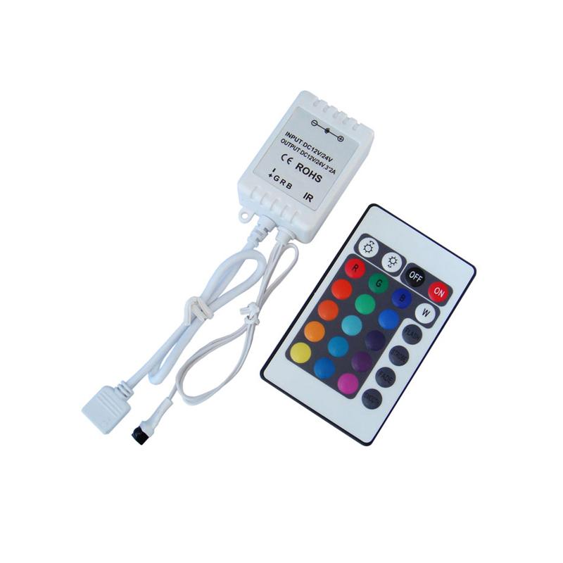 Контроллер кнопочный для RGB ленты 220V инфракрасный
