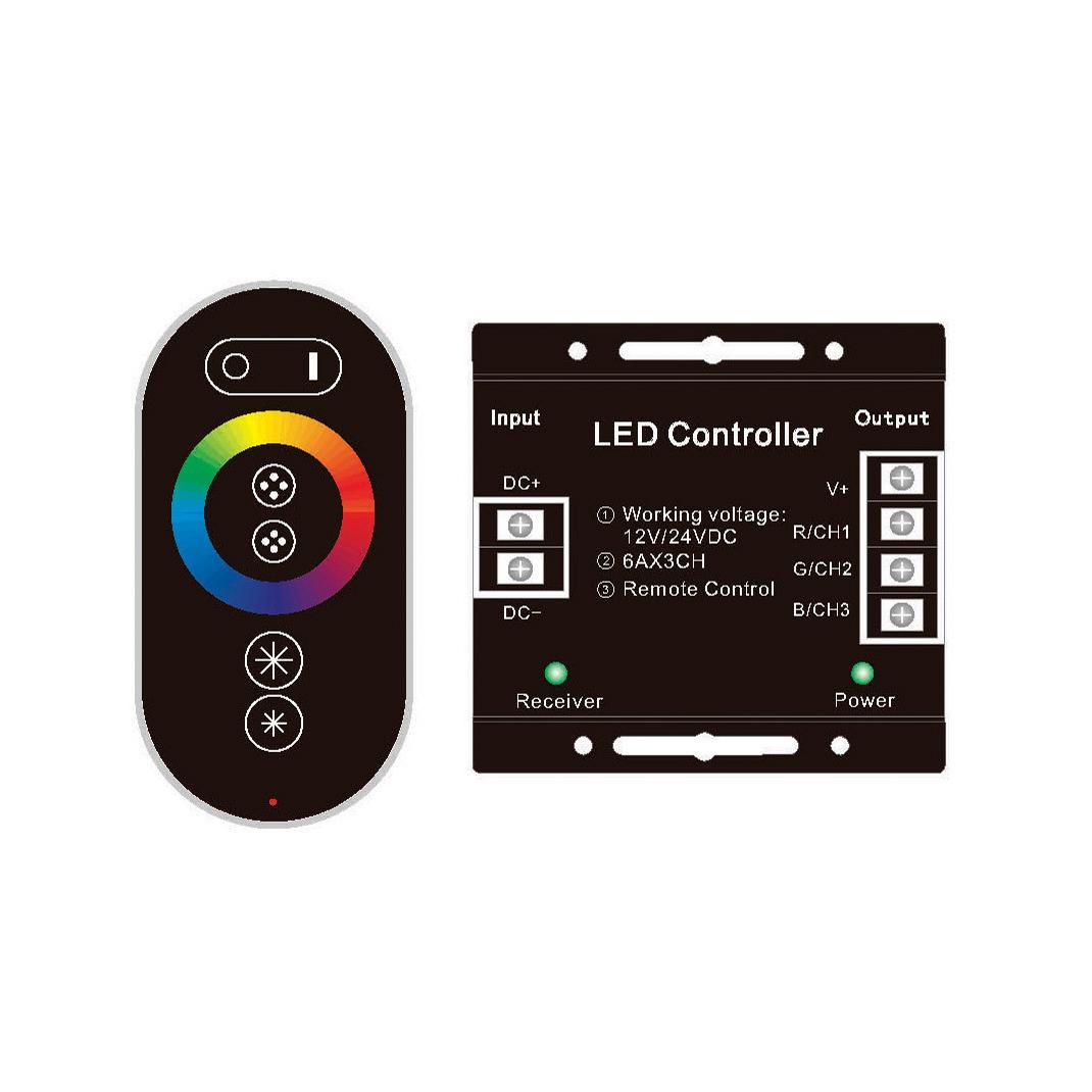 Контроллер сенсорный для светодиодных лент RGB Eleganz
