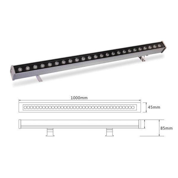 Архитектурный линейный светильник el-LS-XQ-1010