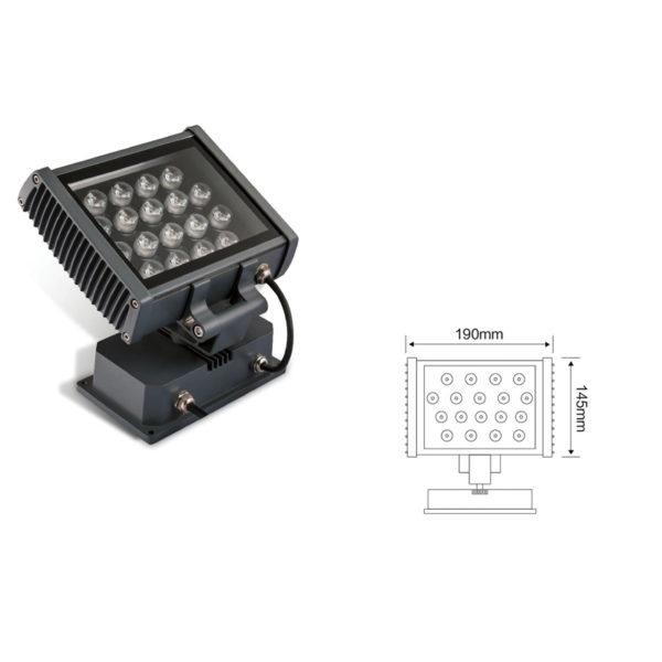 Прожектор заливающего света el-LS-TG-3006