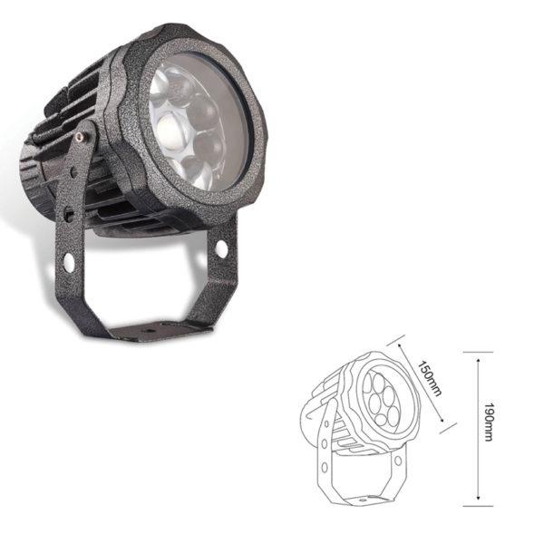 Прожектор заливающего света el-LS-TG-3018