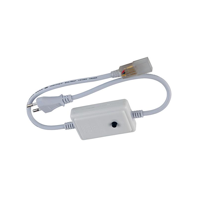 Сетевой шнур с контроллером для RGB лент 220V (20метр)