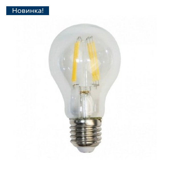 Светодиодная лампа Eleganz 9w e27 А60 нитевидная