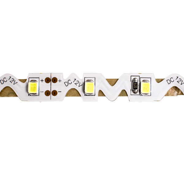 Светодиодная лента 7.2 Ватт 12V Zigzag 6000K