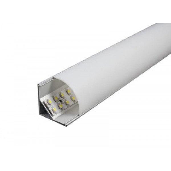 Угловой алюминиевый профиль ALP-11 16*16мм