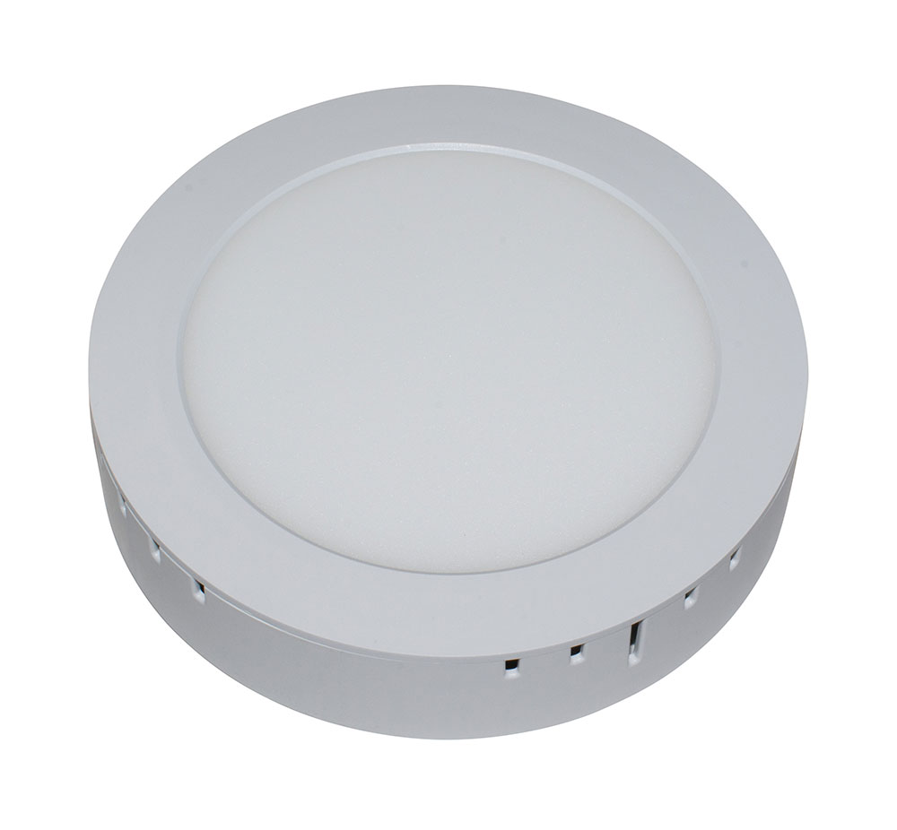 Светодиодная панель накладная круглая 18Вт