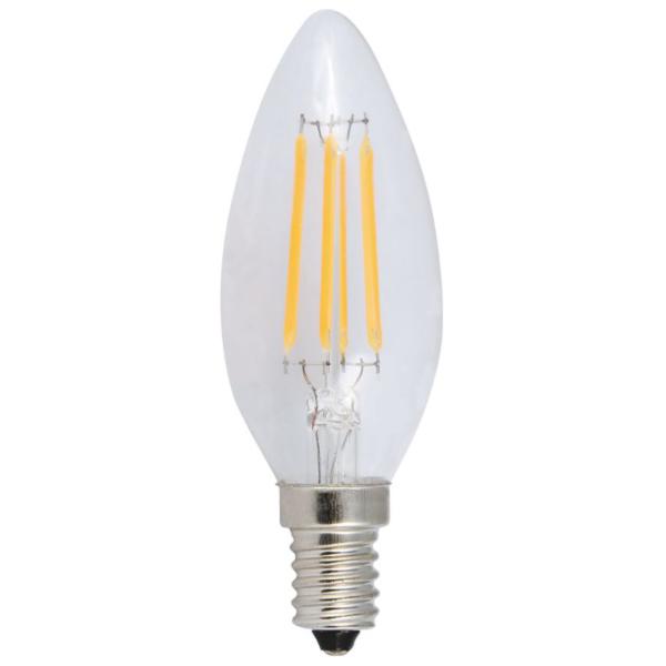 Светодиодная лампа свеча нитевидная